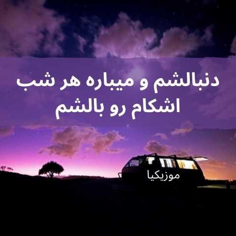 دانلود آهنگ محسن عباسی دنبالشم و میباره هر شب اشکام رو بالشم