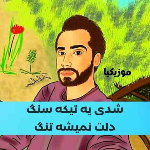 Saman Jalili Musicya.ir دانلود آهنگ سامان جلیلی شدی یه تیکه سنگ دلت نمیشه تنگ